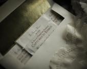 Sample Set of 3 Natural Perfumes - Captured in Ribbon™ - Solid Perfume Samples - For Strange Women