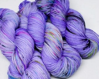 Squish DK - 250 yards -  Hand Dyed Yarn - Superwash Merino - Dipped - OOAK