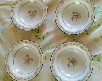 Bryce Noritake Fruit Dessert Bowls. set of 4 Berrie bowls , very nice