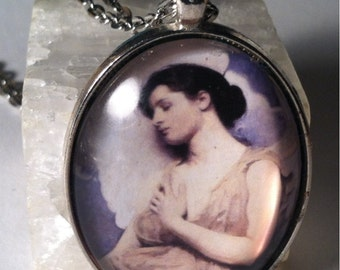 Angel Glass Pendant