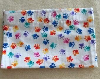 Eco-Friendly Reusable Snack Bag - Paw Prints