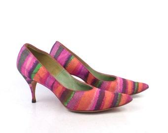 MIJJI Heels Vintage 1960s  Women's size 7 1/2 AAAA
