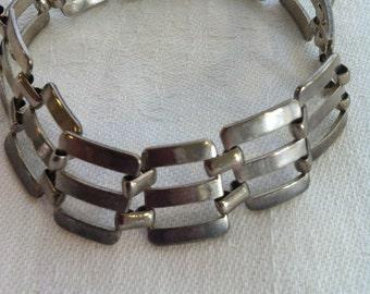 Vintage 1950's Link Bracelet from Barneche/Stephanie Barnes