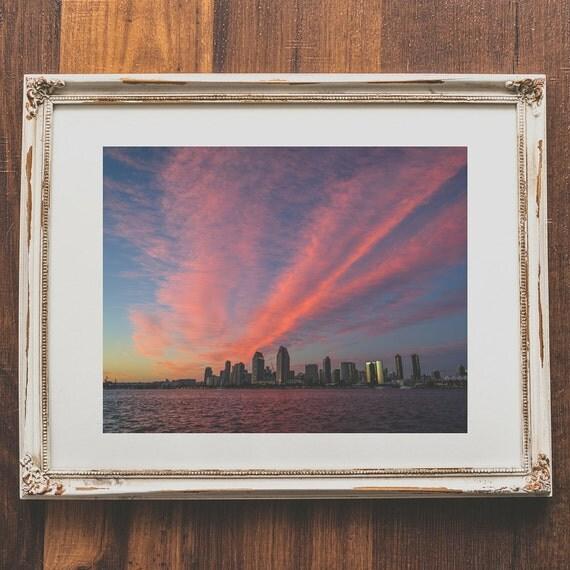Home Decor San Diego: San Diego Wall Art Sunset Photography For Home Decor
