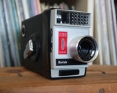 RESERVED 1960's Kodak Escort 8 8mm Film Movie Camera with Field Case