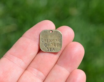 5  Bronze Dreaming of the Sea Charms BC2352