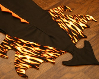 Fleece Dragon Tail Blanket, Childs sizes
