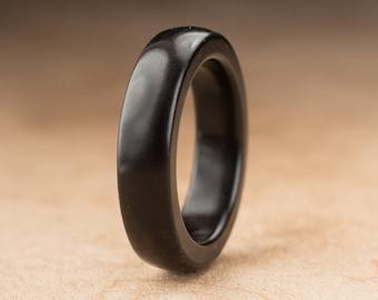 Size 5.75 - Ebony Wood Ring No. 202