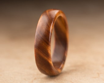 Size 10 - Guayacan Wood Ring No. 369