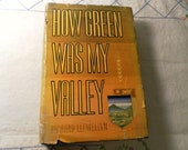 How Green Was My Valley by Richard Llewellyn  1940 first printing