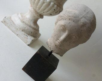 one head