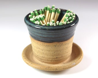 Ceramic Match Striker Fireplace accessories candle lighter  In Stock Ready to Ship