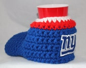 NY Giants Drink Mitt  - The mitten with the drink holder  Great for tailgating and those cold weather games