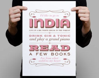 India Song – A3 artprint