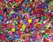 Kitsch Mix of retro charms and beads 150g NEW LOWER PRICE