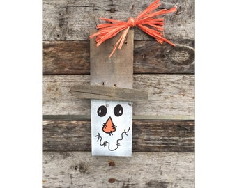 Fall Decorations - Halloween - Halloween Decorations - Fall Decor - Scarecrow - Halloween Art - Halloween Decor - Rustic Decor - Re