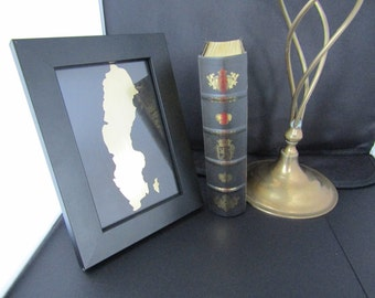 SWEDEN , Framed Country Design, All Countries Available