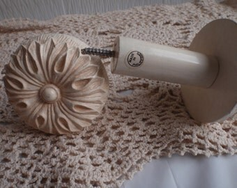 Vintage Tie Backs For Your Curtain - In Off White - For Any Window Curtain
