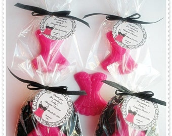 10 ballet soap favors tags includedbrownbagbathbars on