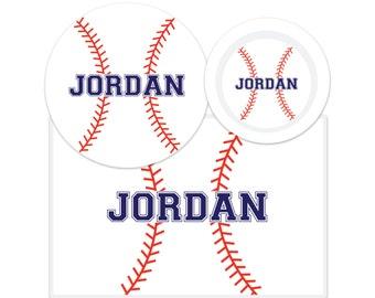 Baseball Plate-Baseball Bowl-Baseball Placemat-Personalized Baseball Dinnerware Set-Custom Kids Dishes-Personalized Mealtime Set-Sports