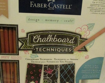Faber Castell CHALKBOARD TECHNIQUES KIT
