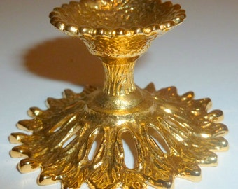 Gold plated egg stand