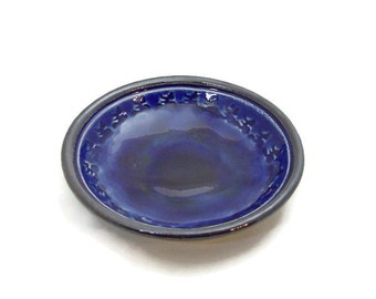 Yoga Aum Isha Offering Bowl Handmade Pottery