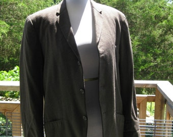 Vintage 1960 Mens Suit Jacket Kaufmans Fifth Avenue