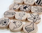 Make a Match Toddler - Beach Edition - Memory Game Inspired by Montessori and Waldorf