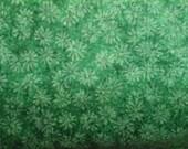 Tonal Green Print 100% Cotton Quality Fabric 1 yard