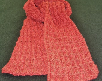 Scarf - Womens (Shale Pleated - Adobe Rose)