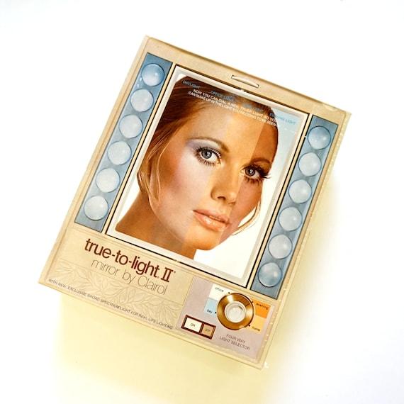 Vintage Clairol True To Light Mirror 70s Nos In Box Mistake