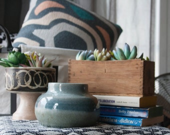 wink handmade vintage studio pottery small vessel
