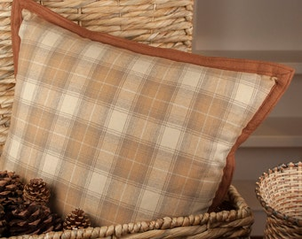 Sauvie - Woolen Pillow made with Pendleton fabric