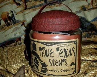 Cowboy Cappuccino - 16 oz Western Cowboy Candle