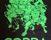 COPRA T-Shirt, Full Team in Black, Limited Edition, HOLIDAY SALE