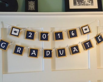 Graduation banner, high school graduation banner, college graduation banner, graduation party decoration