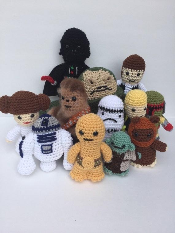 Amigurumi Sushi Pattern Free : Star Wars Amigurumi Set