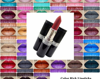 Pick 3 Color Rich Lipsticks or HD Lip Paints-In tubes