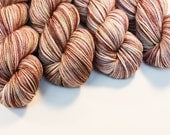 SALE!! Geology: Science Series - Fox in Socks - Hand Dyed Superwash Merino Yarn