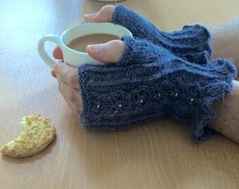 Twinkle Mitts PDF Knitting pattern