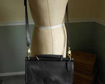 Coach Leather Willis Crossbody Bag