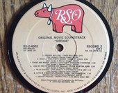 Grease Record Album Coaster