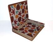 Hollow Book Safe A Brave Young Land Cloth Bound vintage Secret Compartment Keepsake Box Hidden Security Box
