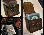 American Made Leather Deck Box- ( Magic the Gathering, Yu-Gi-Oh, Pokemon, trading cards )