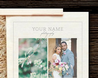 Photography USB Template - Photoshop Templates for USB and Wooden Box - Packaging Templates - Wedding Photographer Templates