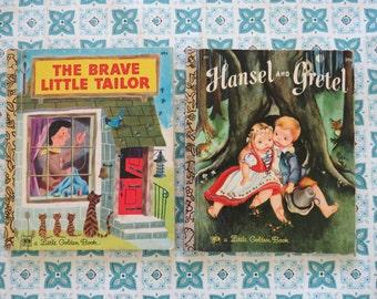 Lot of  Vintage Little Golden books Classic Fairy Tales