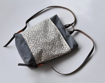 MINI PACK - rain/charcoal wax