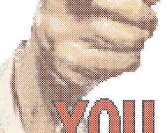You Just Lost The Game Cross Stitch Pattern PDF