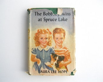 The Bobbsey Twins at Spruce Lake by Laura Lee Hope, Bobbsey Twins Series no 23, 1930